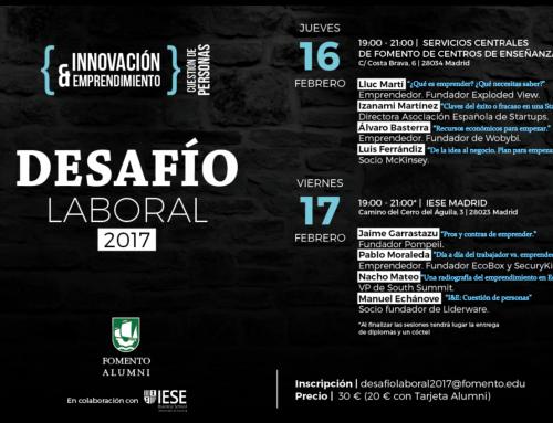 Desafío Laboral 2017: Innovación y Emprendimiento
